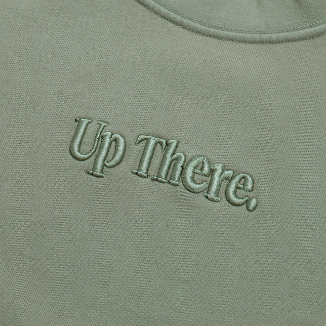 Up There - Heavyweight Pullover Crew - Iceberg - Up There