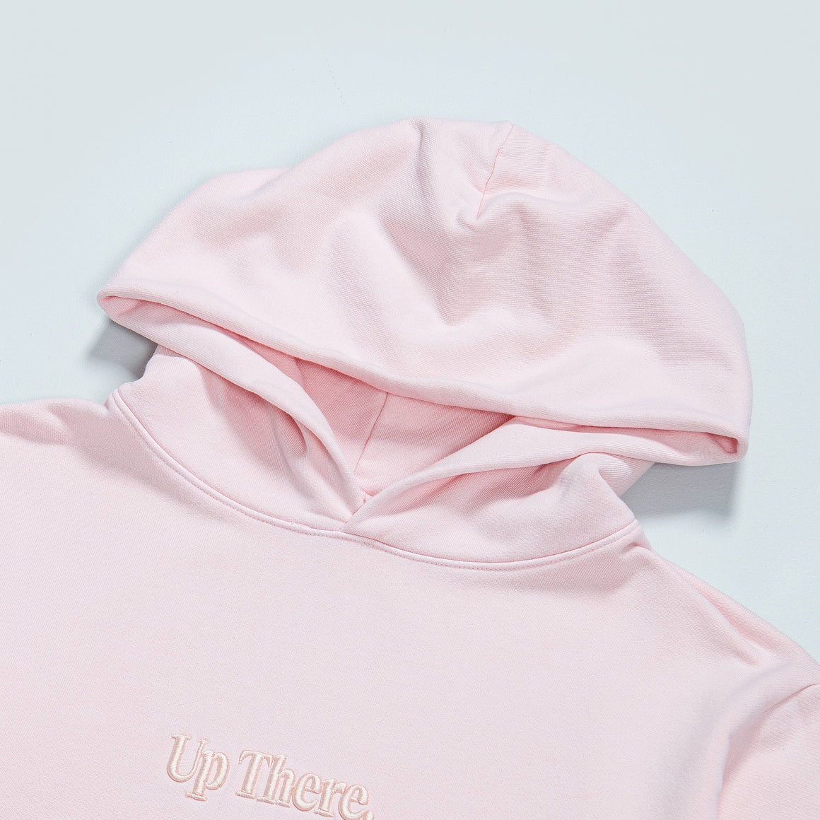 Up There - Heavyweight Pullover Hoodie - Pink - Up There