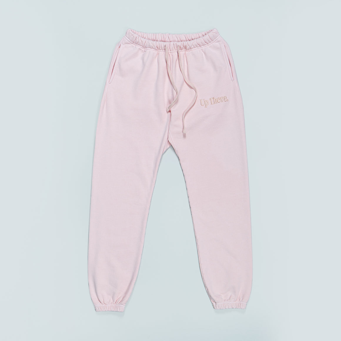 Up There - Heavyweight Sweat Pant - Pink - Up There