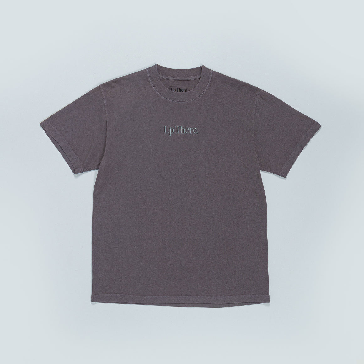 Up There - Short Sleeve Heavyweight Tee - Grey - Up There