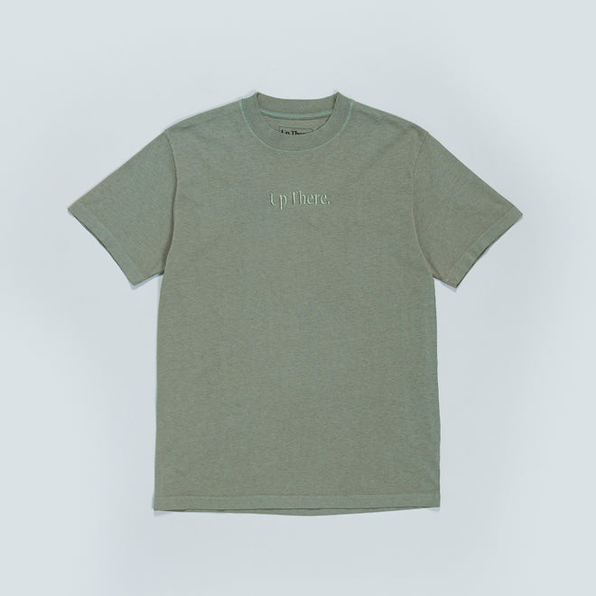 Up There - Short Sleeve Heavyweight Tee - Iceberg - Up There