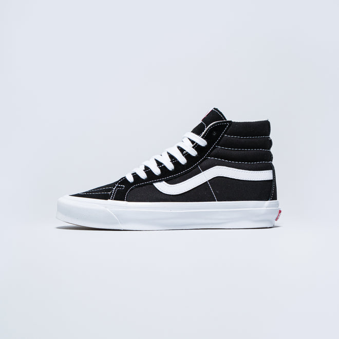 Vans - Vault OG Sk8-Hi LX - Black/True White - Up There