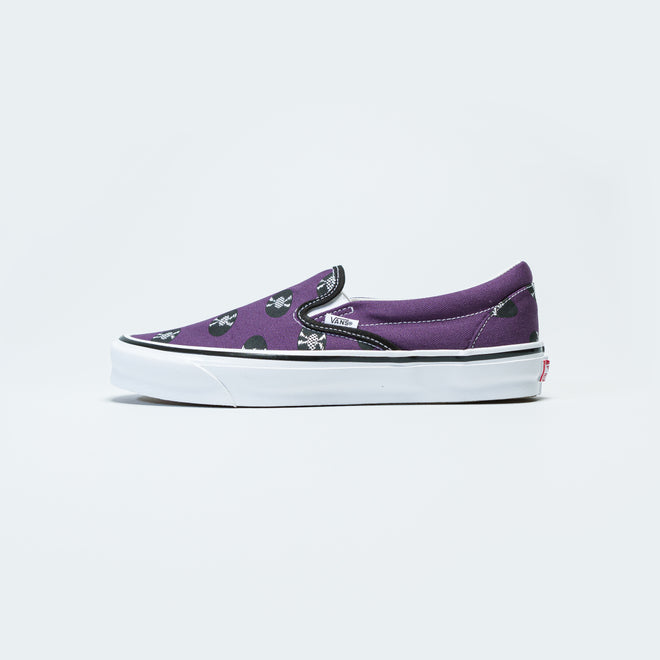 Vans - OG Classic Slip-On x Wacko Maria - Purple/Records - Up There