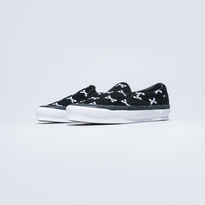 Vans - OG Classic Slip-On LX x Wtaps - Bones/Black - Up There