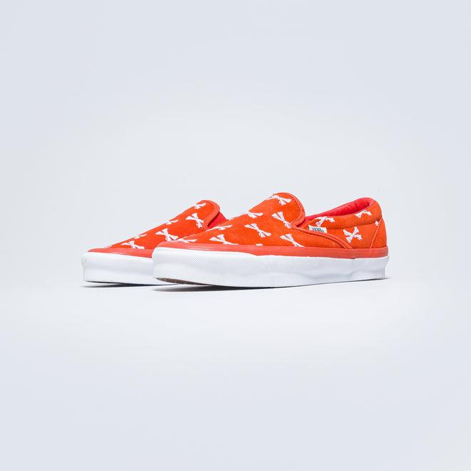 OG Classic Slip-On LX x Wtaps - Bones/Orange