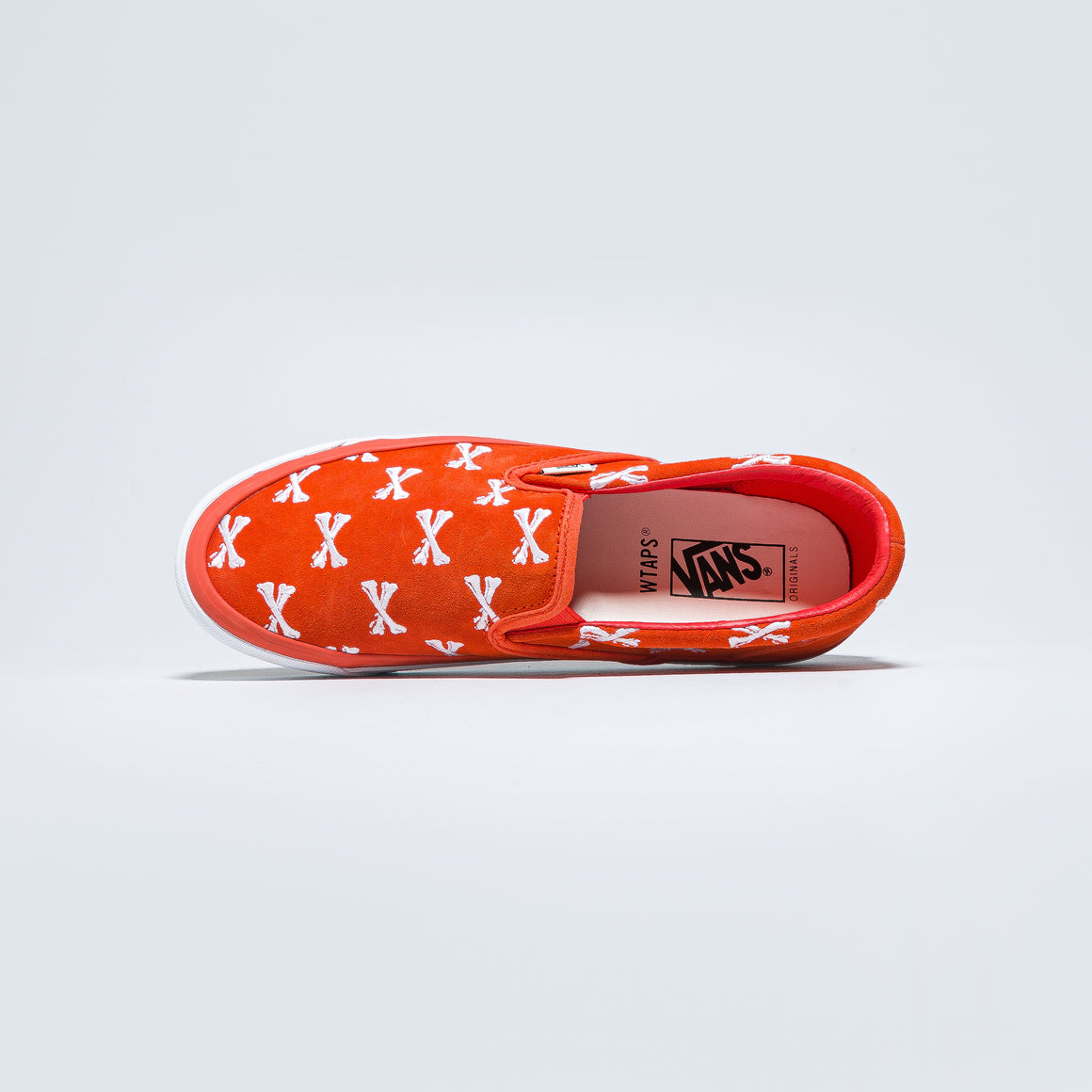 Vans - OG Classic Slip-On LX x Wtaps - Bones/Orange - Up There