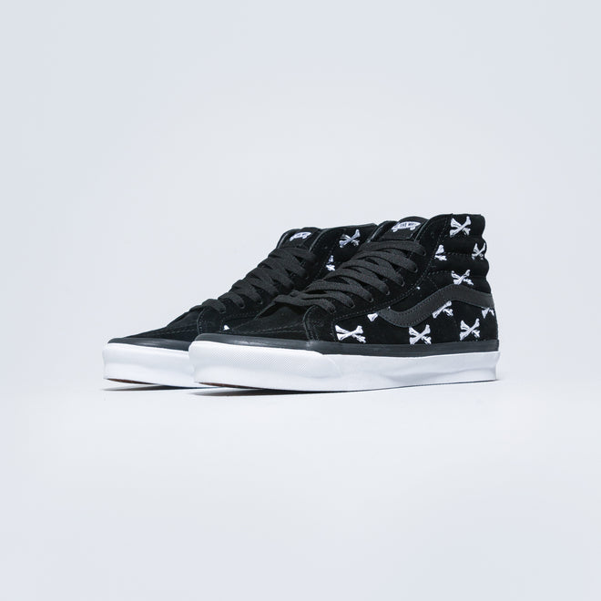 Vans - OG Sk8-Hi LX x Wtaps - Bones/Black - Up There