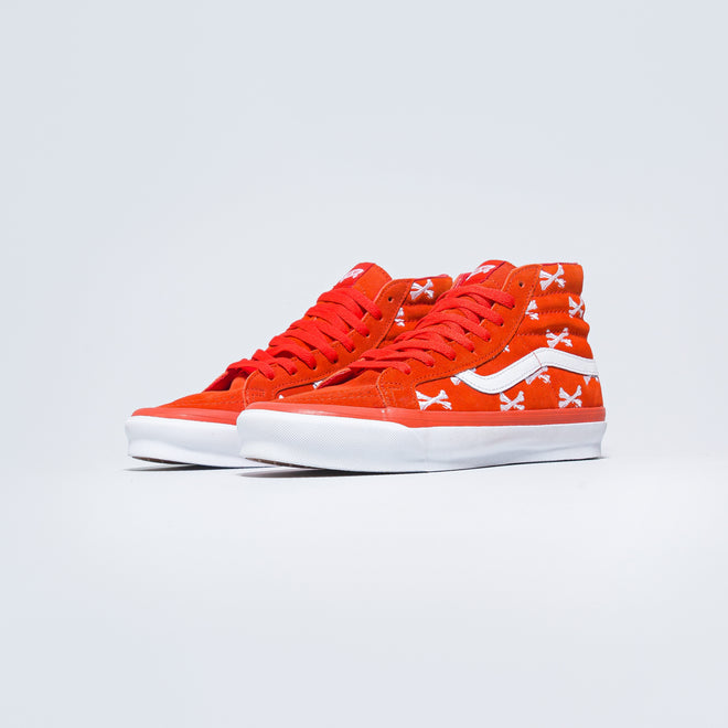 Vans - OG Sk8-Hi LX x Wtaps - Bones/Orange - Up There