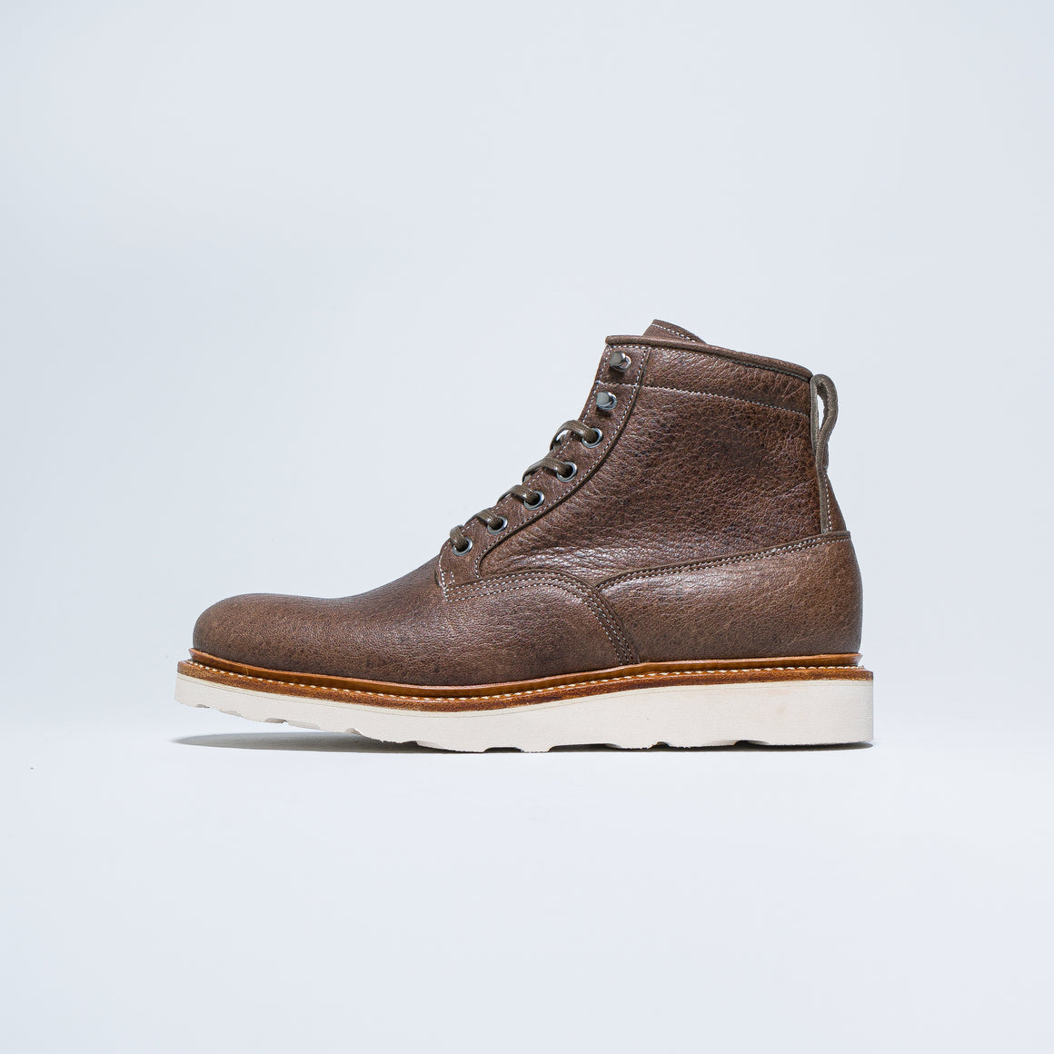 Viberg - Scout Boots - CF Stead Fog Waxed Veldt - Up There