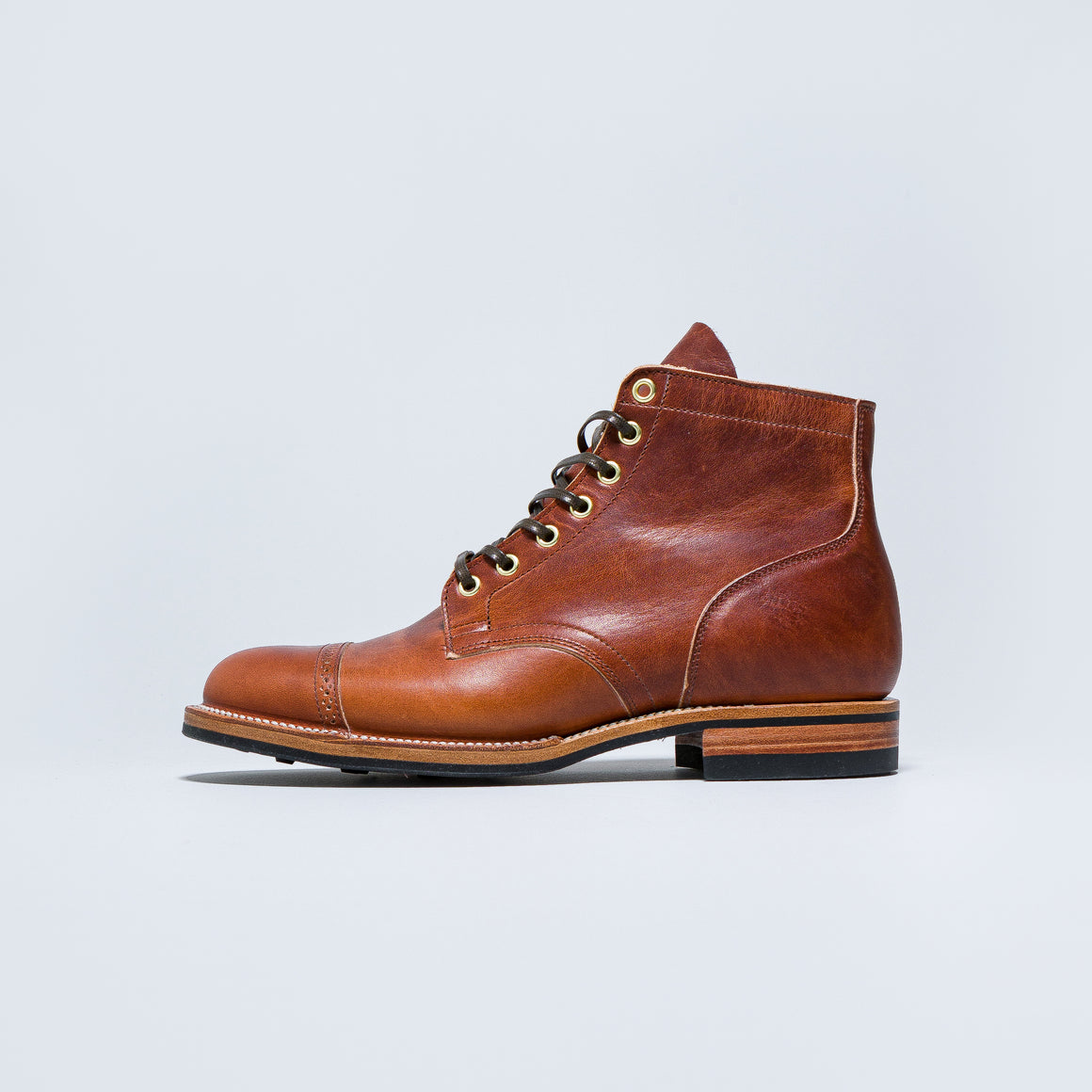 Viberg - Service Boot Toe Cap - Essex Spice - Up There