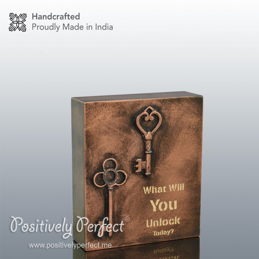Handmade Inspirational Gift : What will you unlock today