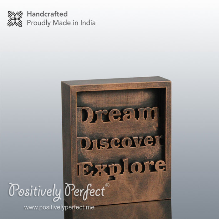 Inspiring Quote Gifts : Dream Discover Explore
