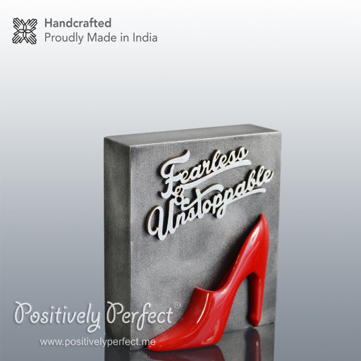 Womens Day Gift : Fearless and Unstoppable