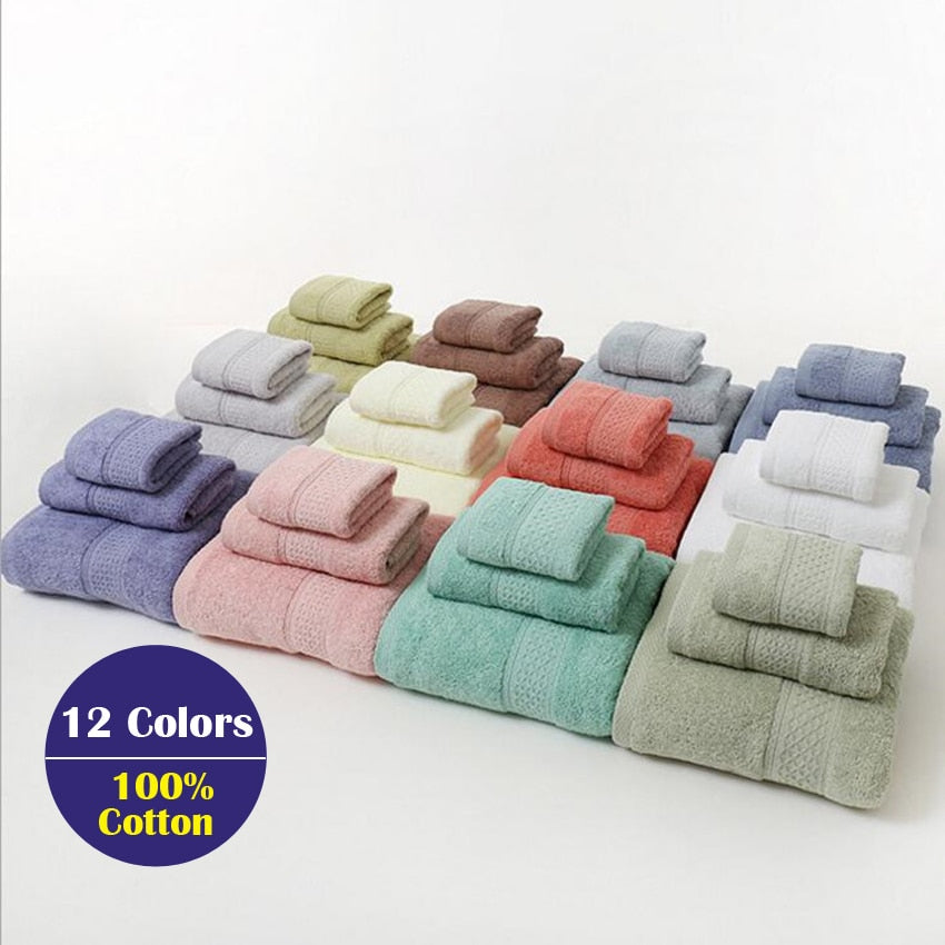 3PCS Towel Set - The Home Empire