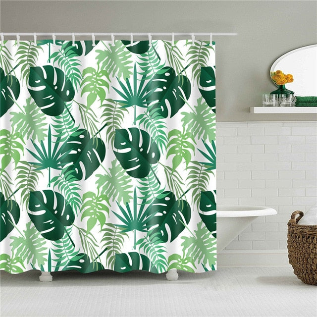 Omni Foliage Shower Curtain - The Home Empire