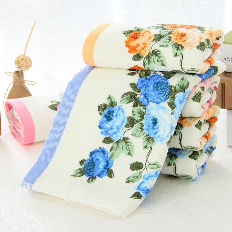 Floral Bath Towels - The Home Empire