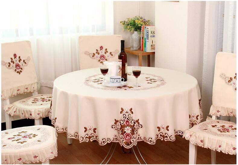 Elegant Rose Table Cloth - The Home Empire