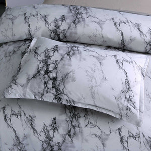 Marble Printed Duvet Cover Set - The Home Empire