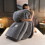 Velvet Flannel Duvet Cover - The Home Empire