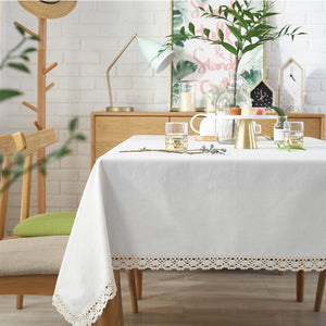 Elegant Rectangular Tablecloth - The Home Empire