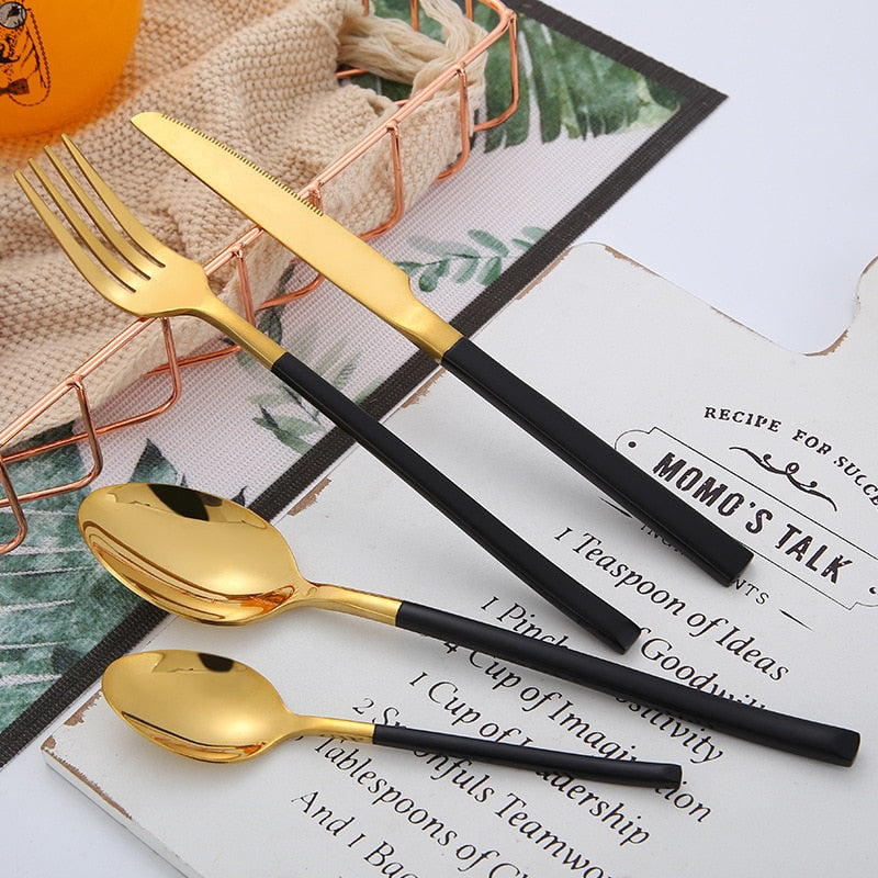 Fine Dine In Cutlery Set - The Home Empire