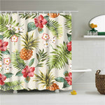 Floral Bamboo Shower Curtain - The Home Empire