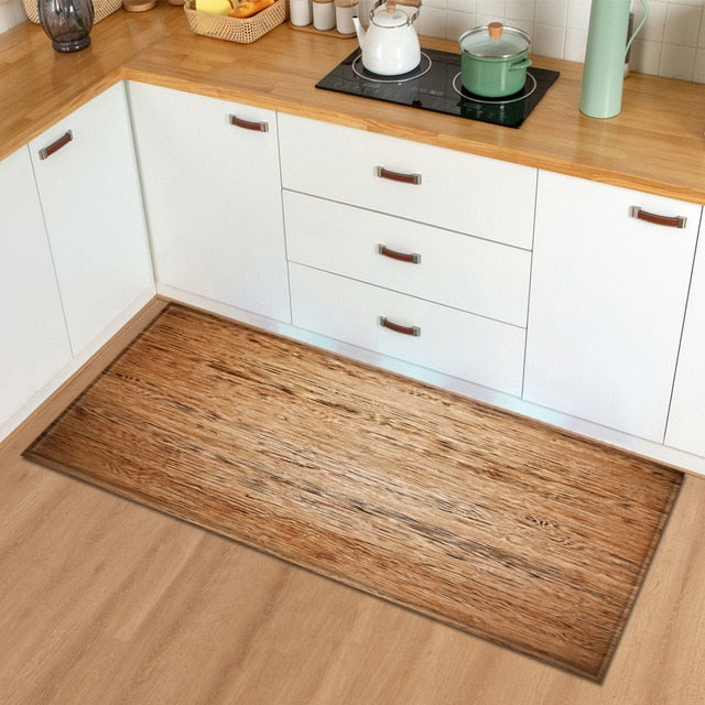 Wooden Style Kitchen Mats - The Home Empire