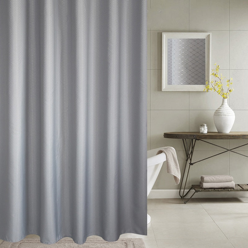 Thick Jacquard Shower Curtain - The Home Empire