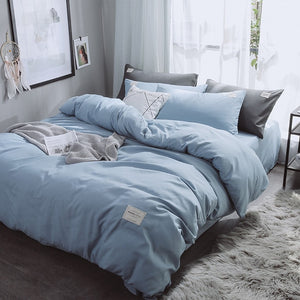 Pure Color Duvet Cover Set - The Home Empire