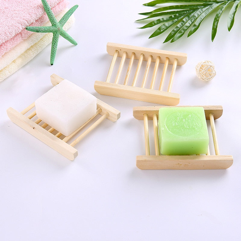 Bamboo Soap Holder - The Home Empire