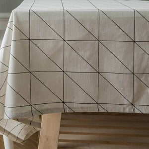Chara Imbued Table Cloth - The Home Empire
