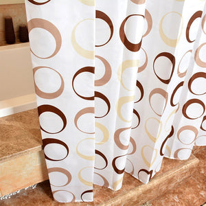 Circle Bathroom Curtain - The Home Empire