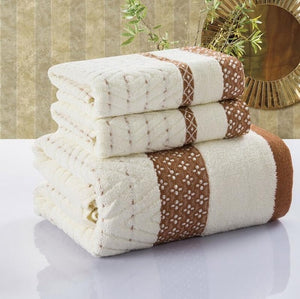 Knitted Face Towel Set - The Home Empire