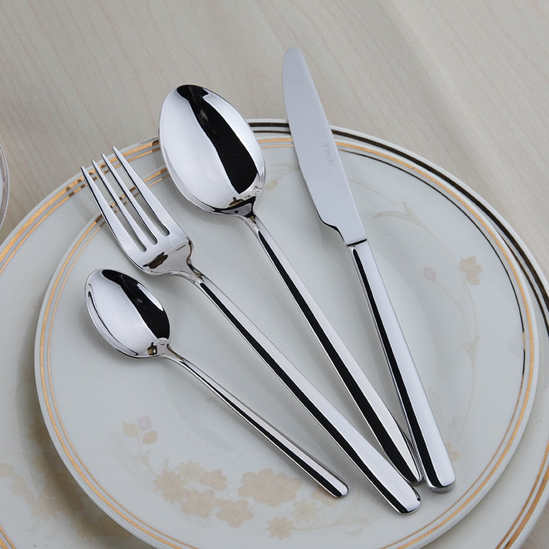 24PC Reflection Cutlery Set - The Home Empire