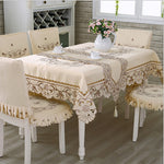 Satin Fabric Tablecloth - The Home Empire