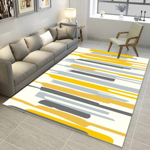 Nordic Style Painted Rug - The Home Empire