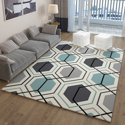 Nordic Style Cell Rug - The Home Empire