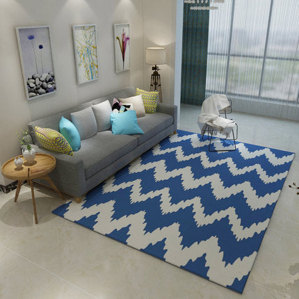 Nordic Style Wavy Rug - The Home Empire