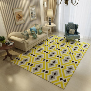 Nordic Style Dotted Rug - The Home Empire