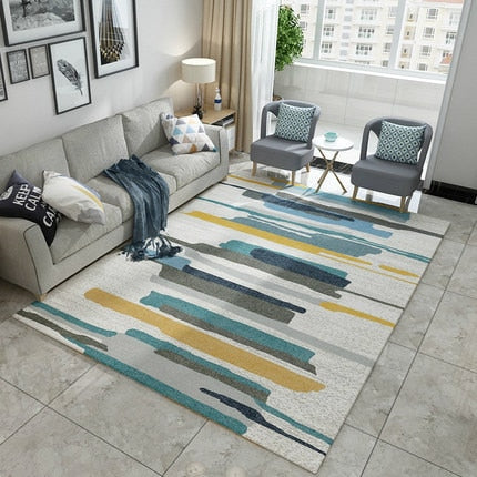 Nordic Style Striped Rug - The Home Empire
