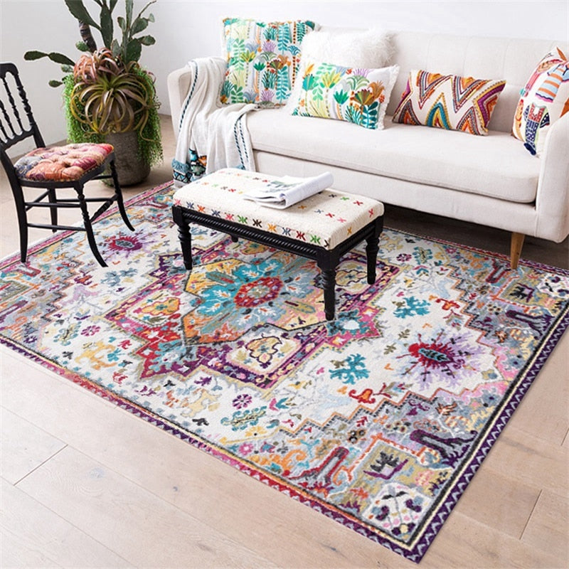 Morocco Style Jacquard Carpet - The Home Empire