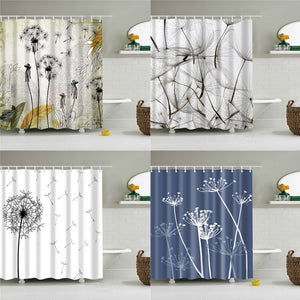 Angeline Dandelion Shower Curtain - The Home Empire