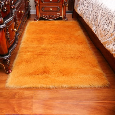 Long Hair Solid Carpet - The Home Empire