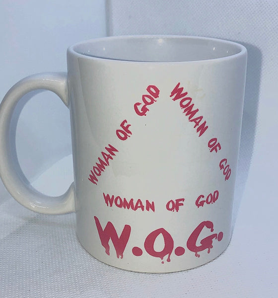 W.O.G Woman of God Mug