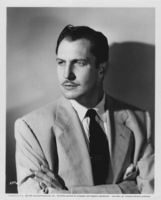 Vincent Price Film Stage Actor Writer Father Of Horror Movies