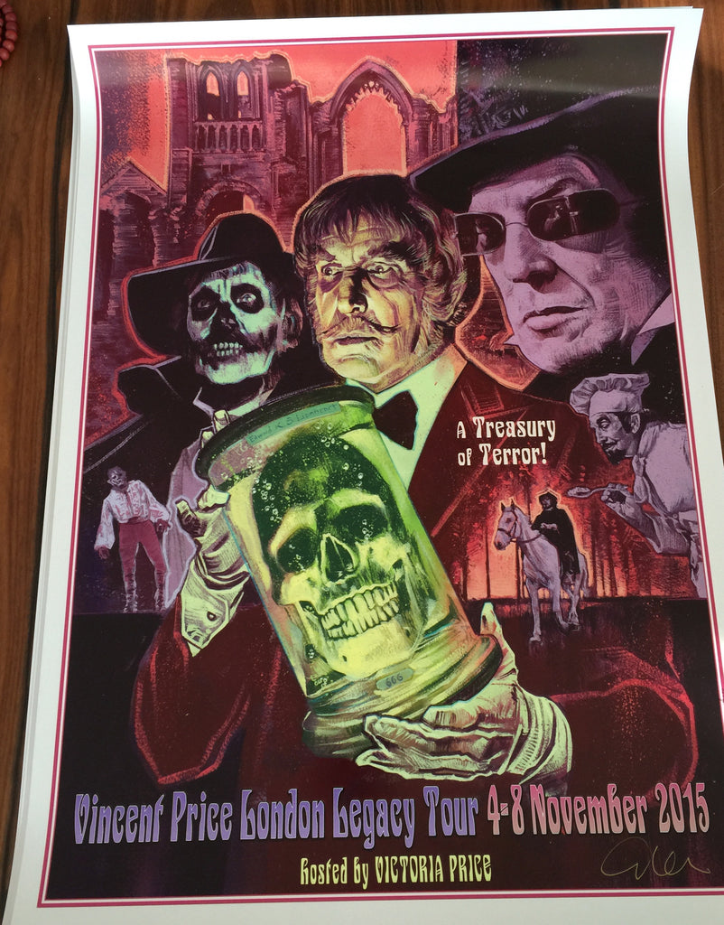 Limited Edition Graham Humphries UK Legacy Poster