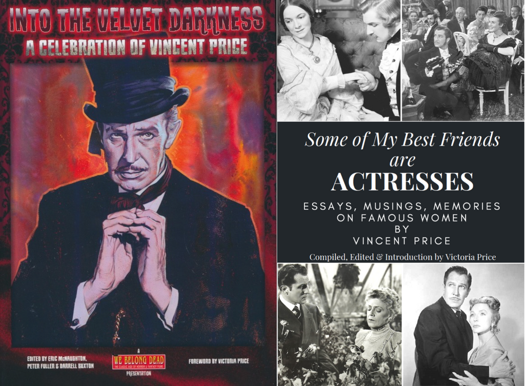 ONLY ON THIS WEBSITE: A Holiday Special -- Two New Vincent Price Books