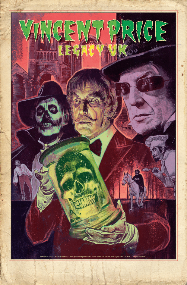 NEW POSTER: Vincent Price's UK Legacy