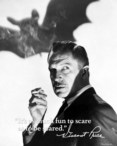 Fun to Scare Vincent Price Poster