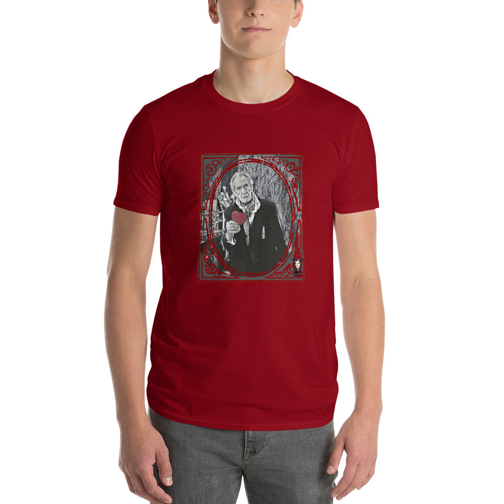 Red Valentine Vincent Short-Sleeve Unisex T-Shirt